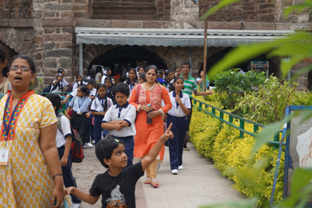 EDUCATIONAL FIELD TRIP – GOLCONDA FORT