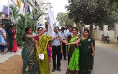 Patriotic march and 70th Republic day celebration @ Voxpop
