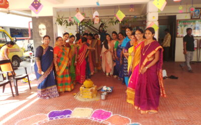 PONGAL CELEBRATIONS IN OUR SCHOOL